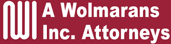 A. Wolmarans Inc. Attorneys Logo